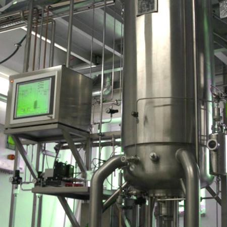 Heterotrophe Algen Produktion in-situ sterilisierbarer Algen Bioreaktor