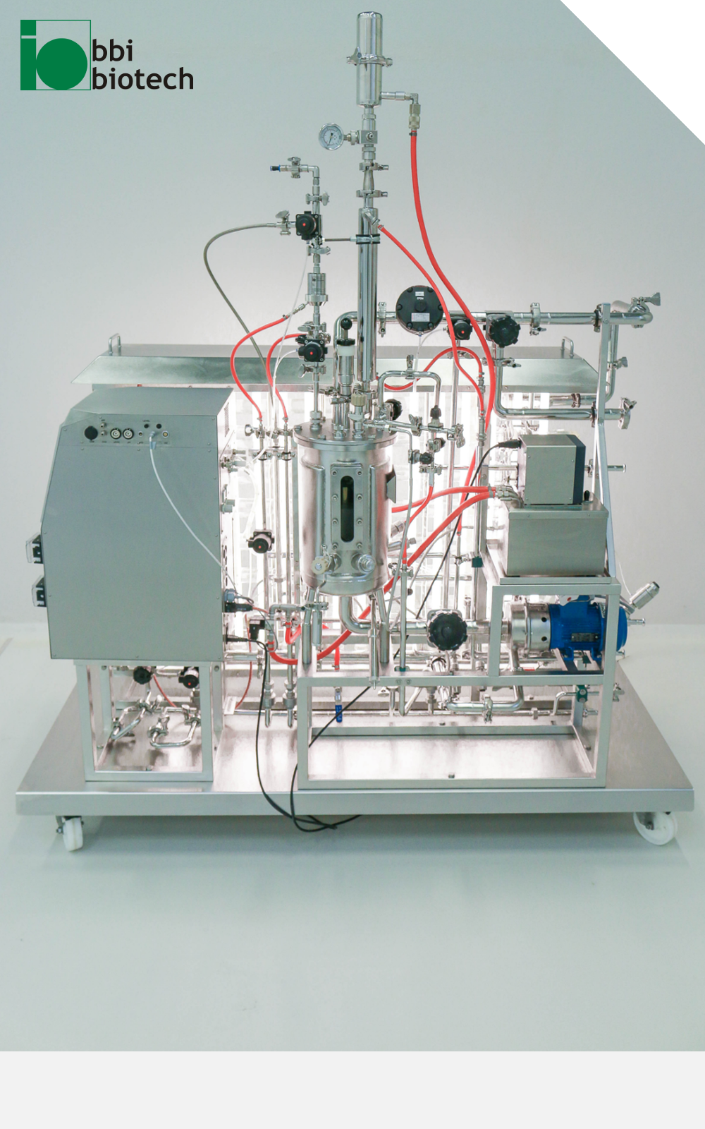 Sterile Photobioreactor Type for Microalgae Production in Product Development and Research
